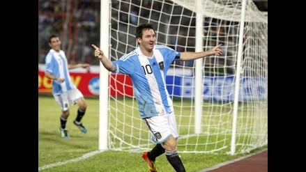 Repase en fotos la actuación de Messi en el triunfo de Argentina