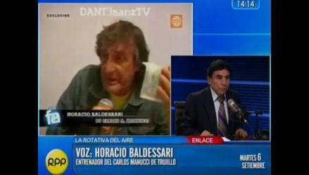 Horacio Baldessari: Me equivoqué y le pido disculpas a todo el Perú