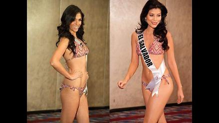 Bellezas de Miss Universo 2011 en traje de baño