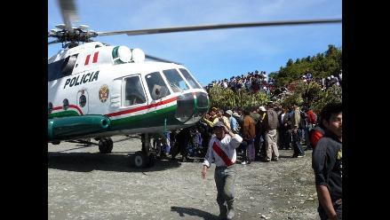 Patrullaje con helicópteros en el Callao empezará el 21 de setiembre