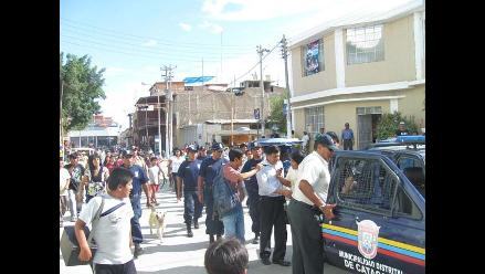 Piura: Autoridades marcharán contra la delincuencia en Catacaos