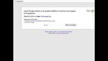 Anonymous ataca página web del Poder Judicial