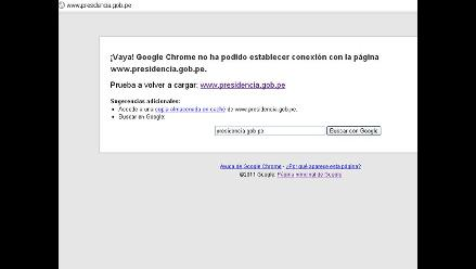Anonymous ataca nuevas páginas web del Estado peruano