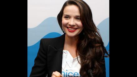 Natalia Oreiro es la nueva embajadora de Unicef para Río de la Plata