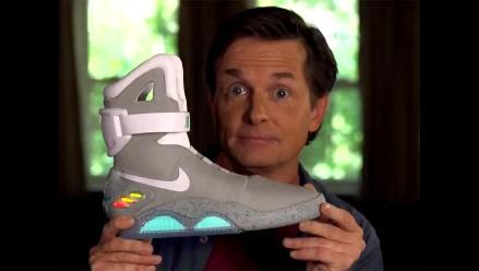 Michael J. Fox reaparece para publicitar zapatillas de Marty McFly