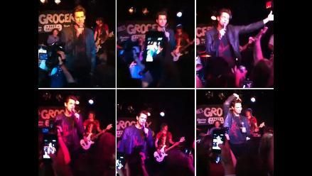 Jim Carrey sorprende cantando en karaoke
