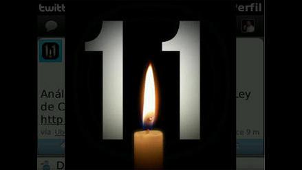 11-S es recordado en Twitter con simbólicas imágenes