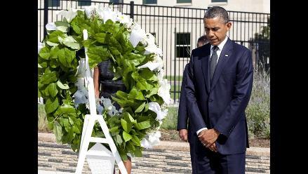 Norteamericanos realizan ceremonia en honor al 11 de septiembre
