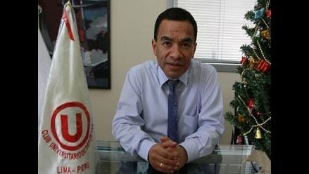Delegado del Melgar: Me da mucha pena la situación de Universitario