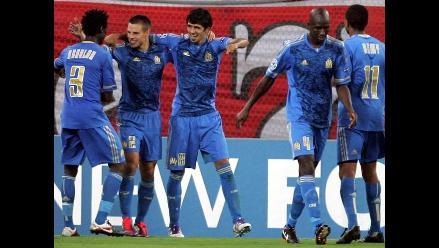 Olympique de Marsella derrotó 1-0 al Olympiacos en inicio de Champions
