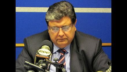Alan García no teme investigación porque tiene la conciencia limpia