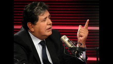 Alan García defiende su gestión ante denuncia de ´faenón´ pesquero