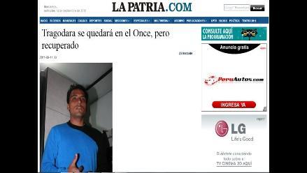 Once Caldas acepta que Tragodara se recupere en Colombia, asegura prensa