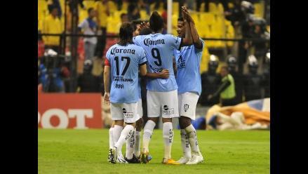 Peruano Wilmer Aguirre da empate 2-2 al San Luis sobre América