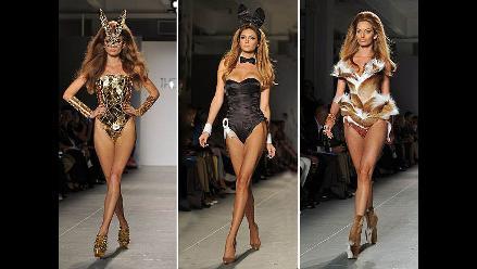 Playboy exhibe sensuales diseños en la Semana de la Moda de Nueva York