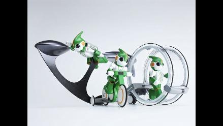 Panasonic presenta su nuevo robot EVOLTA