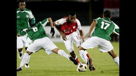 Sudamericana: Deportivo Cali empató de visita con Independiente Santa Fe