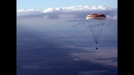 Soyuz TMA-21 aterriza con algunos problemas en Kazajistán