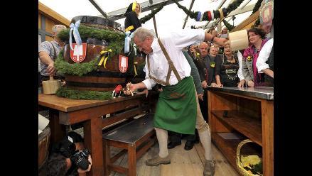 Se inicia la Oktoberfest en Alemania, la mayor fiesta de la cerveza
