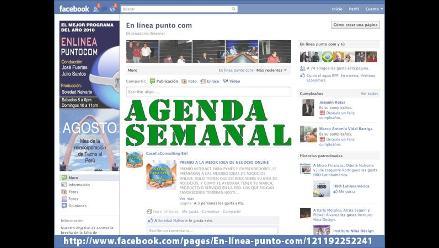 La agenda digital - 20 al 28 de septiembre
