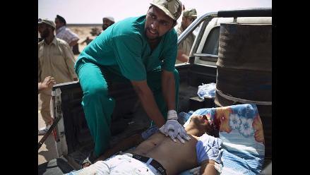 Aseguran que prisioneros de Gadafi murieron asfixiados en contenedores