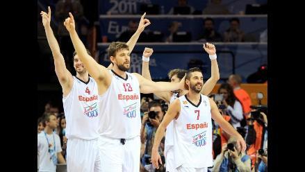 España se corona campeón del Campeonato Europeo de baloncesto