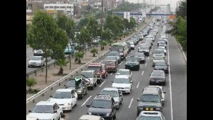El flujo vehicular creció en 8,8% a nivel nacional
