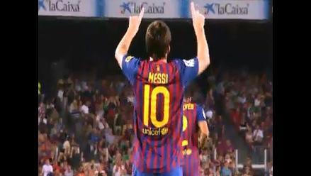 Lionel Messi dedica gol a niño marroquí al que le amputaron las piernas