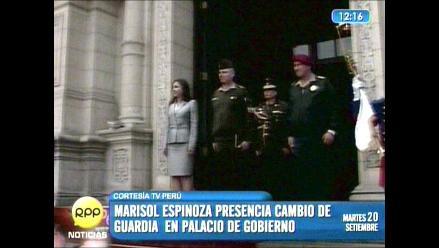 Marisol Espinoza asume Presidencia por 5 días ante ausencia de Humala