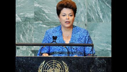 Rousseff reclama más participación de países emergentes en la ONU