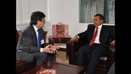 Lerner destaca cita de Humala con presidente de Corea y del BID