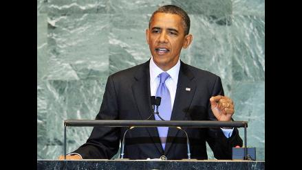 Obama afirma que paz no se puede imponer entre israelíes y palestinos