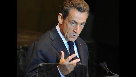 Sarkozy propone que en un año concluyan negociaciones Israel-Palestina