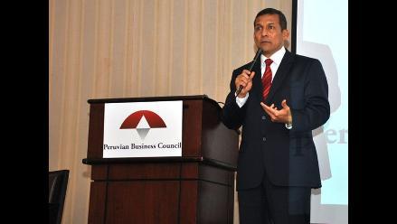 Presidente Humala: Sería iluso pensar que no nos va a tocar crisis