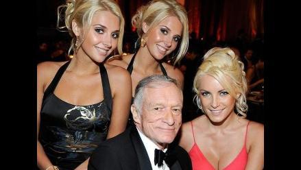 Hugh Hefner asegura tener una vida sexual activa a sus 85 años