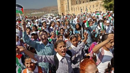 Cientos de palestinos protestan contra el discurso de Obama en la ONU