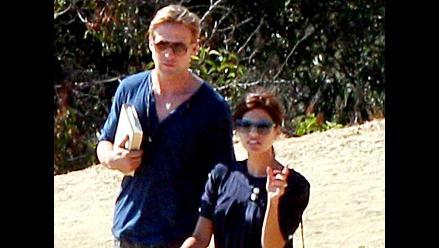 Ryan Gosling y Eva Mendes fueron captados nuevamente juntos
