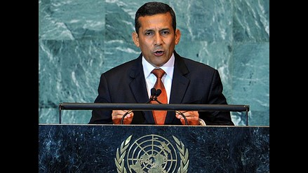 Resumen de la exposición del presidente Humala en la ONU