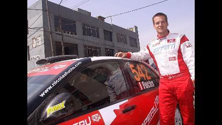 Nicolás Fuchs lidera los Caminos del Inca 2011