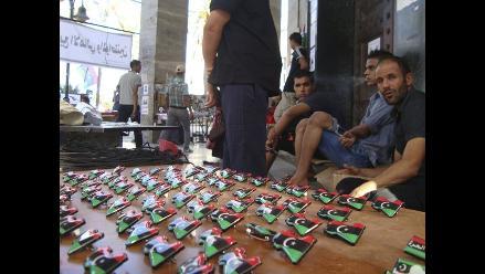 Los recuerdos de la revolución, nuevo negocio para comerciantes libios