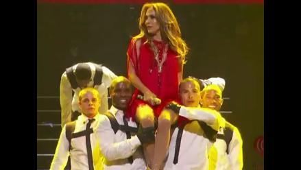 Jennifer Lopez vuelve a los escenarios tras separación con Marc Anthony