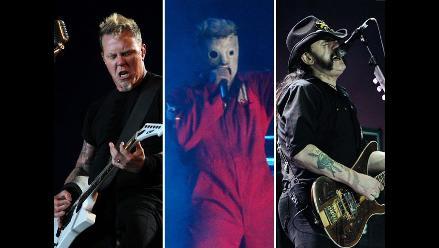 Rock in Rio: Metallica, Slipknot y Motorhead dijeron presente