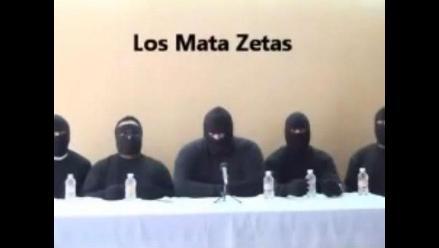 Gobierno de México rechaza relación con banda de ´Los Mata Zetas´
