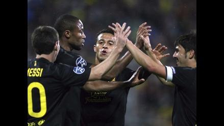 Barcelona goleó 5-0 al Bate Borisov por la Liga de Campeones