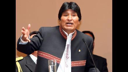 Evo Morales califica de imperdonable la represión a la marcha indígena