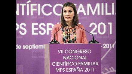 Princesa de Asturias inaugura VII Congreso Científico Familiar
