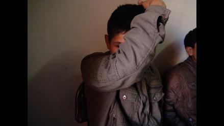 Cajamarca: Menores integraban banda los ´Cogoteros de Sargento Lores´