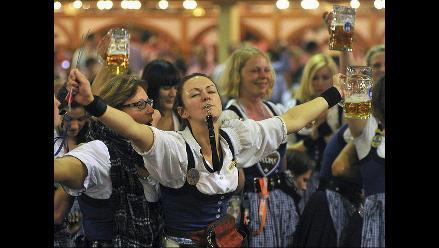 El Oktoberfest bate record con siete millones de visitantes