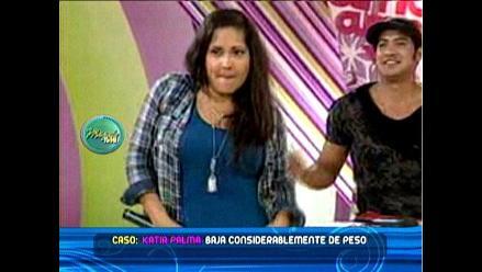 Katia Palma luce nueva figura con muchos kilos menos