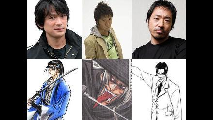 Revelan quién será Hajime Saito en live action de Rurouni Kenshin